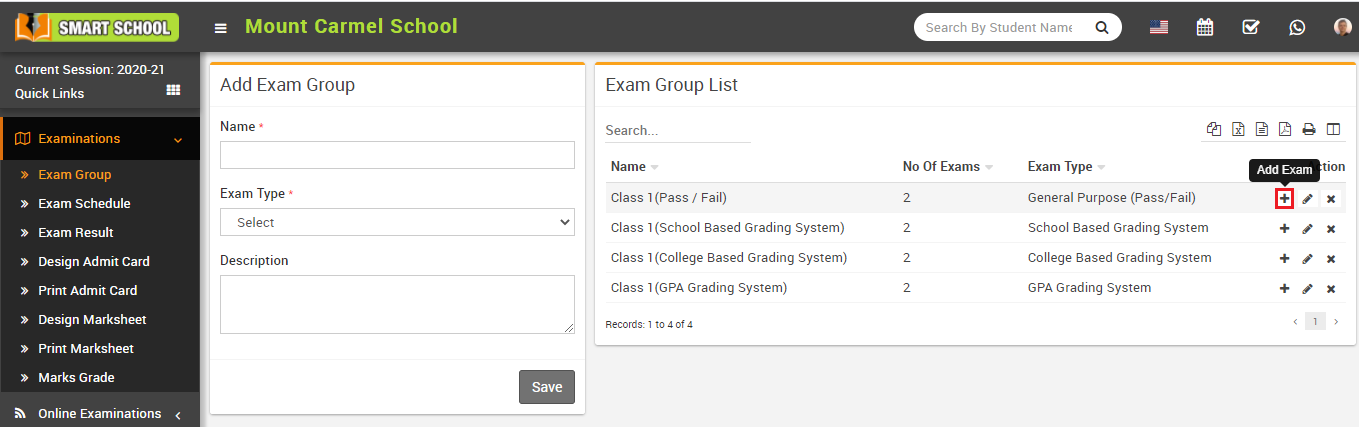 Exam subject icon image