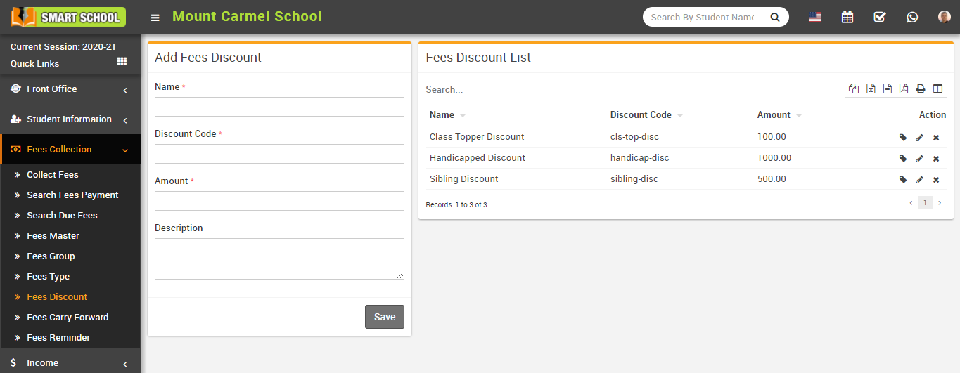 Add fees discount image