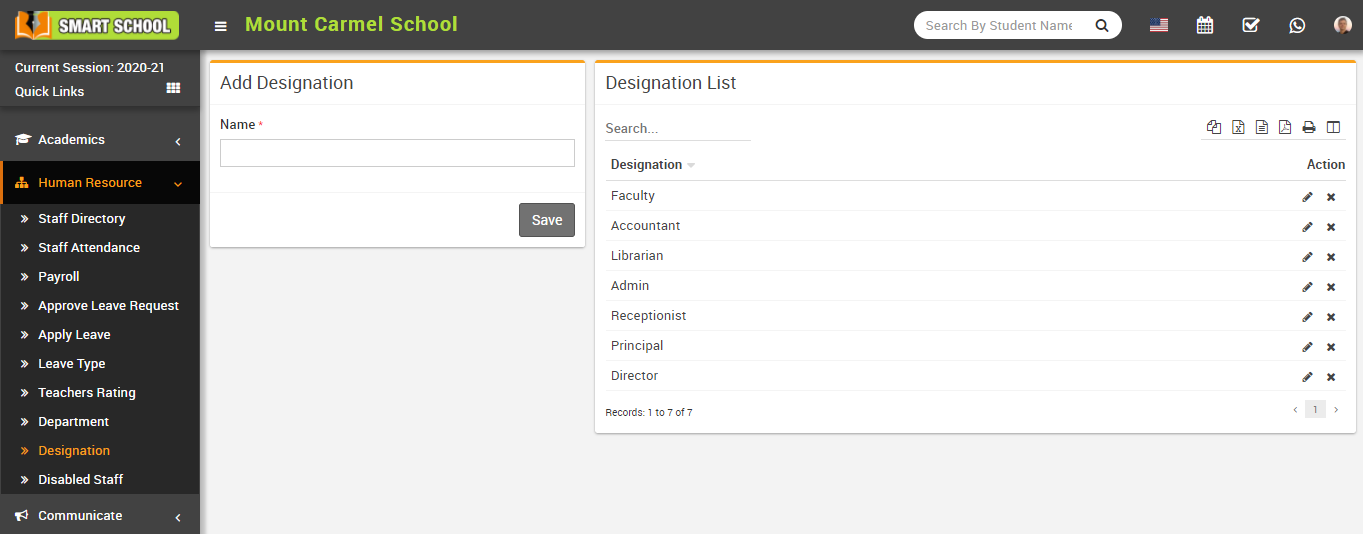 add designation image