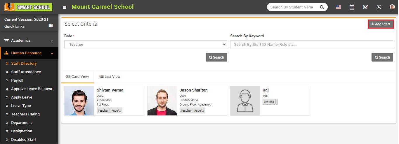 staff directory image