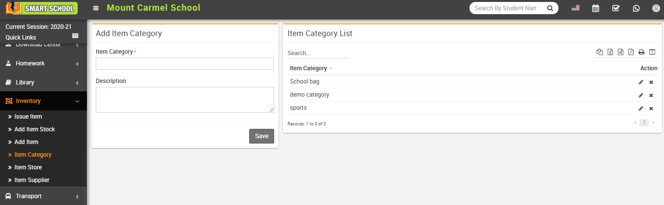 Add item category image