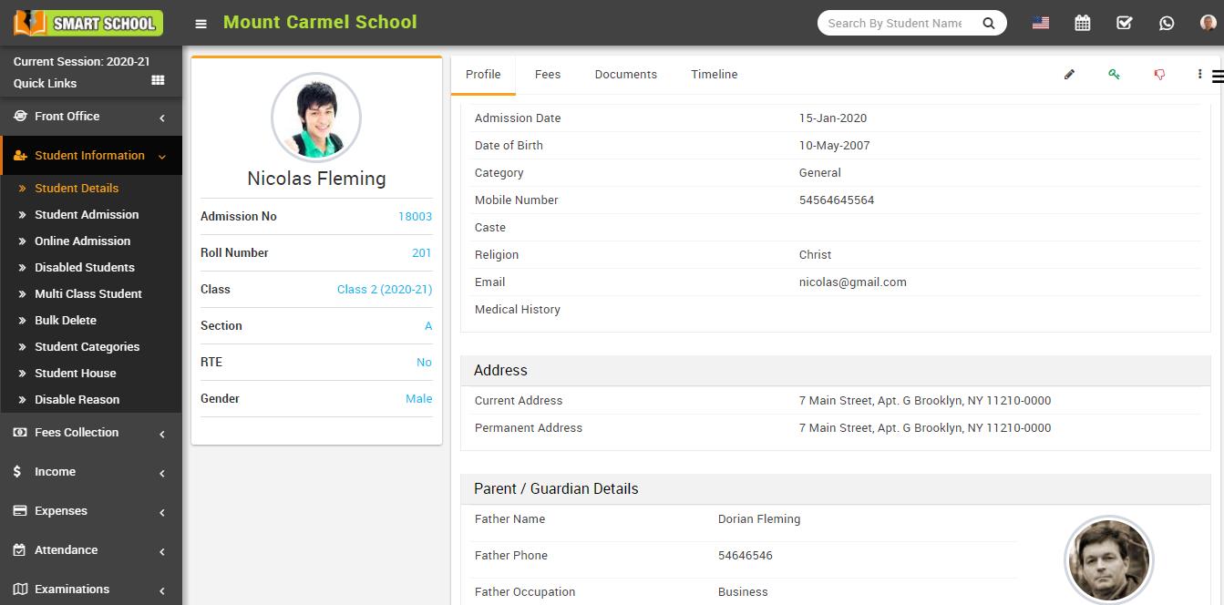 Student profile image