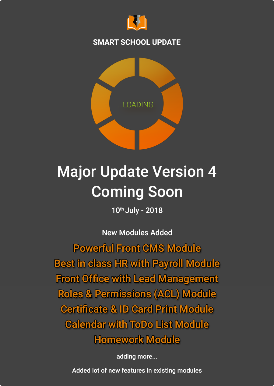 Coming Update