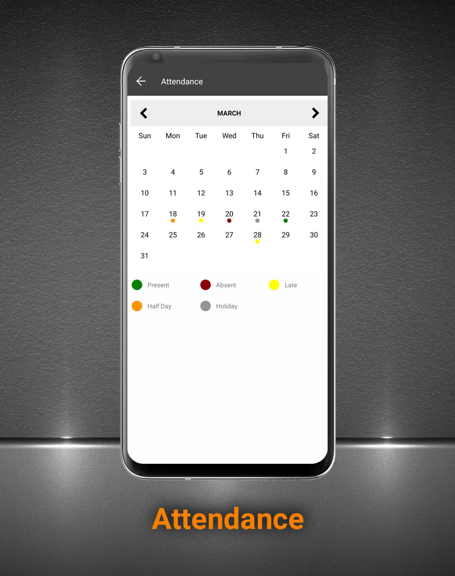 Smart School Android App - Mobile Application for Smart School - 11