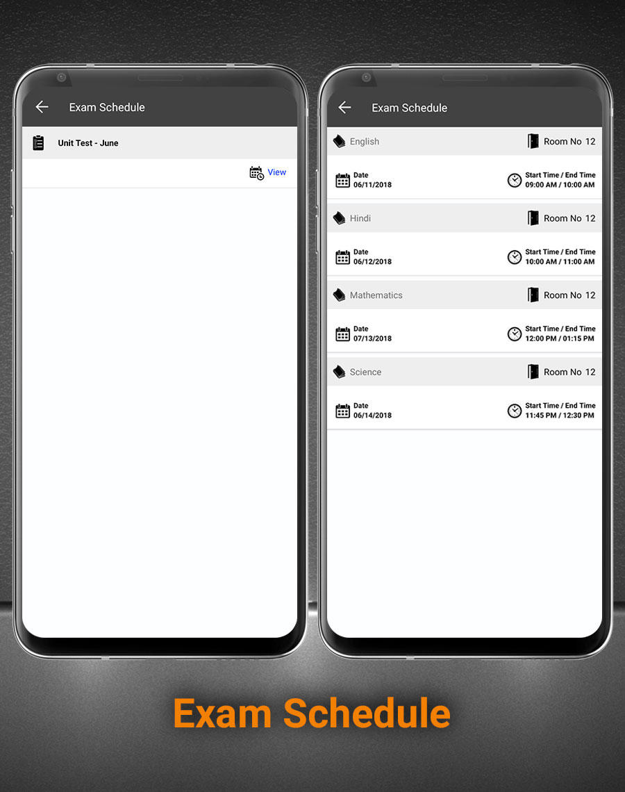 Smart School Android App - Mobile Application for Smart School - 13