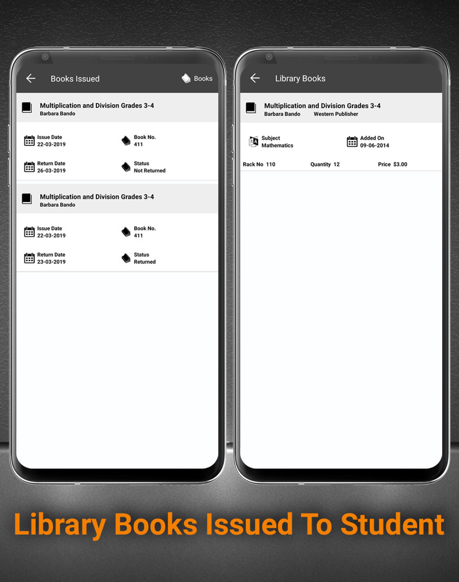 Smart School Android App - Mobile Application for Smart School - 18