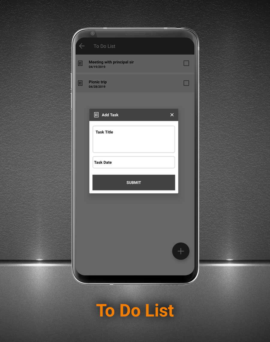 Smart School Android App - Mobile Application for Smart School - 25