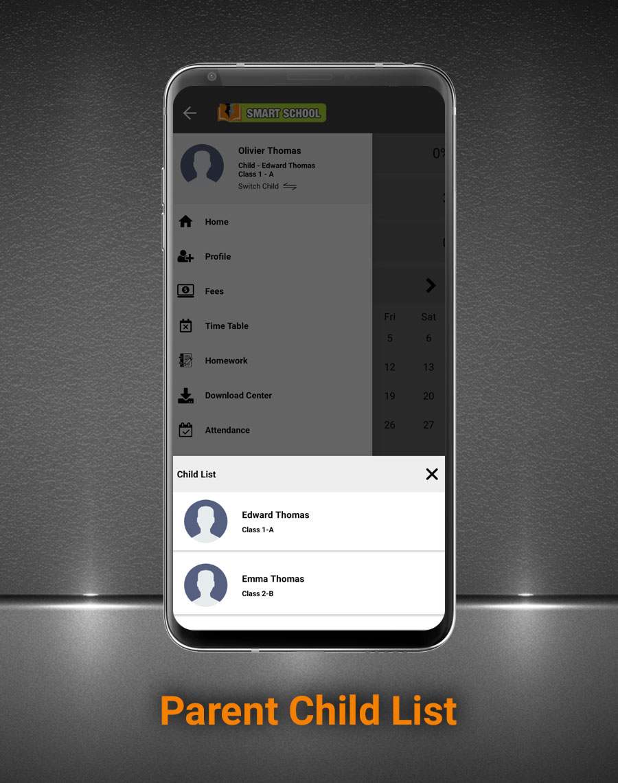 Smart School Android App - Mobile Application for Smart School - 6