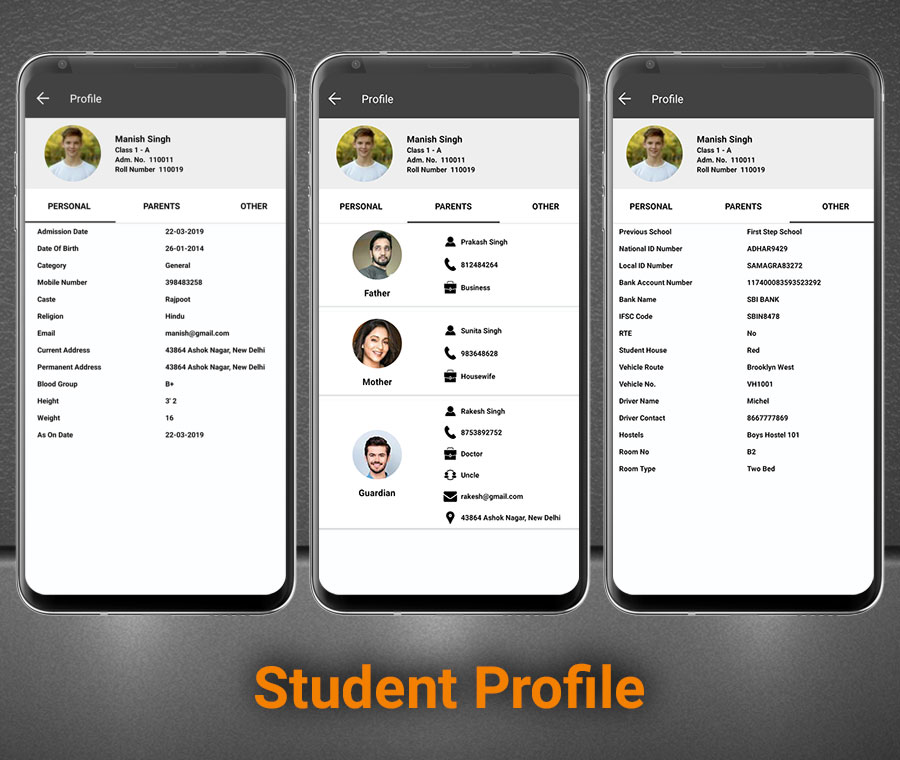 Smart School Android App - Mobile Application for Smart School - 7